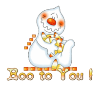 Boo to You - CandyCornGhost