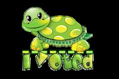 I Voted - CuteTurtle