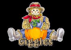 Giggles - AutumnScarecrowSitting