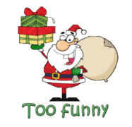 Too funny - SantaDeliveringGifts