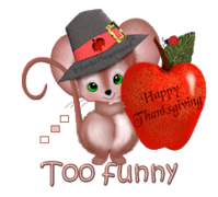 Too funny - ThanksgivingMouse