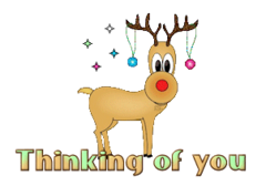 Thinking of you - ChristmasReindeer