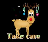 Take care - ChristmasReindeer