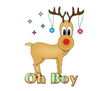 Oh Boy - ChristmasReindeer