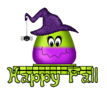 Happy Fall - CandyCornWitch