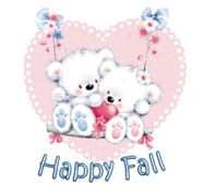 Happy Fall - ValentineBearsCouple2016