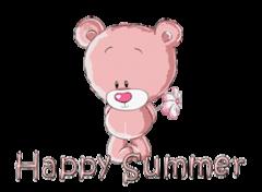 Happy Summer - ShyTeddy