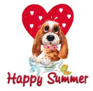 Happy Summer - ValentinePup2016