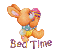 Bed Time - EasterBunnyWithEgg16