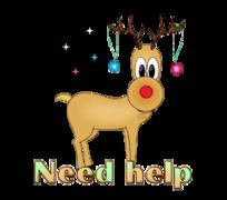 Need help - ChristmasReindeer