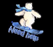 Need help - SnowboardingPolarBear