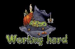 Working hard - CuteWitchesHat