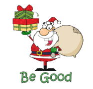 Be Good - SantaDeliveringGifts