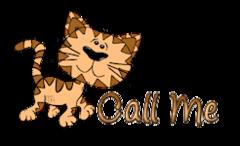 Call Me - CuteCatWalking