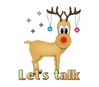 Let's talk - ChristmasReindeer
