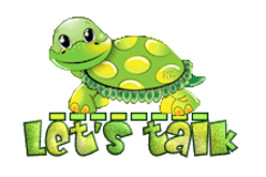 Let's talk - CuteTurtle