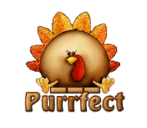 Purrfect - ThanksgivingCuteTurkey