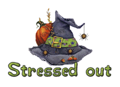 Stressed out - CuteWitchesHat