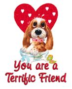 You are a Terrific Friend - ValentinePup2016