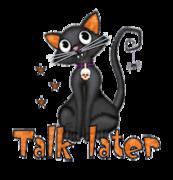 Talk later - HalloweenKittySitting