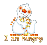 I am hungry - CandyCornGhost