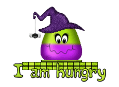 I am hungry - CandyCornWitch