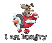 I am hungry - DogFlyingPlane
