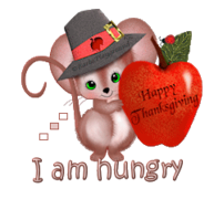 I am hungry - ThanksgivingMouse