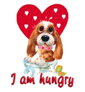 I am hungry - ValentinePup2016