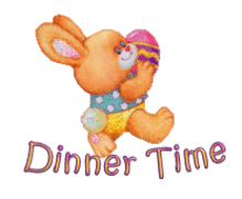 Dinner Time - EasterBunnyWithEgg16