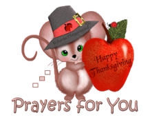 Prayers for You - ThanksgivingMouse