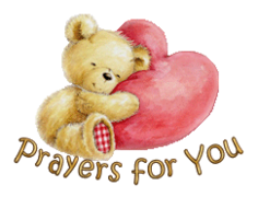 Prayers for You - ValentineBear2016