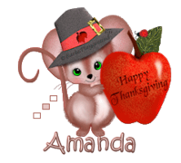 Amanda - ThanksgivingMouse