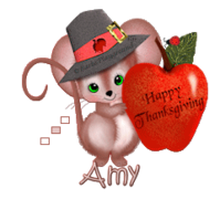 Amy - ThanksgivingMouse