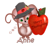 Anne - ThanksgivingMouse