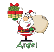 Angel - SantaDeliveringGifts