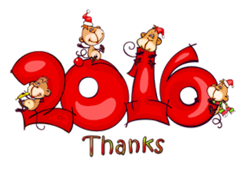 Thanks - 2016WithMonkeys
