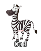Dad - DancingZebra
