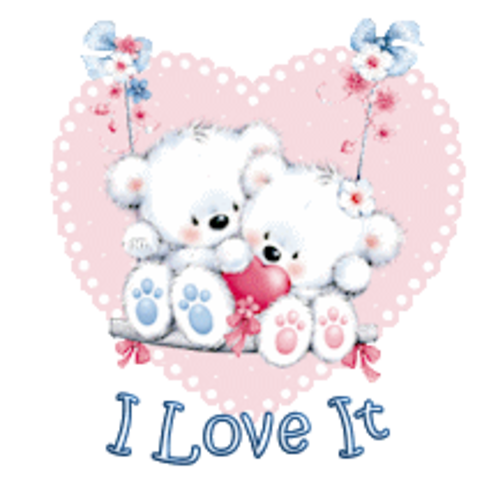 I Love It - ValentineBearsCouple