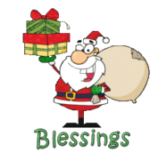 Blessings - SantaDeliveringGifts