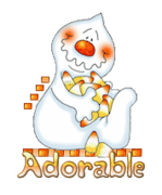 Adorable - CandyCornGhost