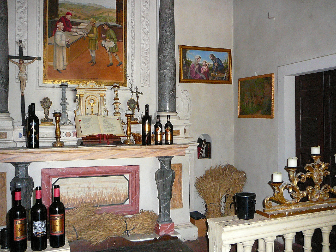 "Dievole Winery Inside ""Church"""