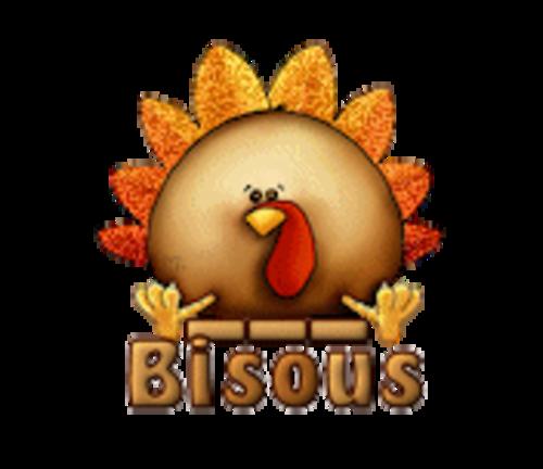 Bisous - ThanksgivingCuteTurkey