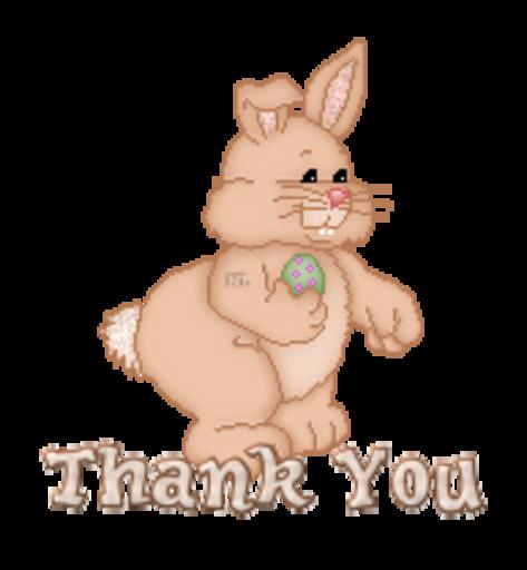 Thank You - BunnyWithEgg