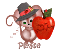 Please - ThanksgivingMouse