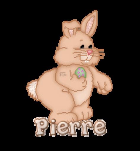 Pierre - BunnyWithEgg