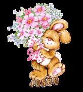 Josee - BunnyWithFlowers