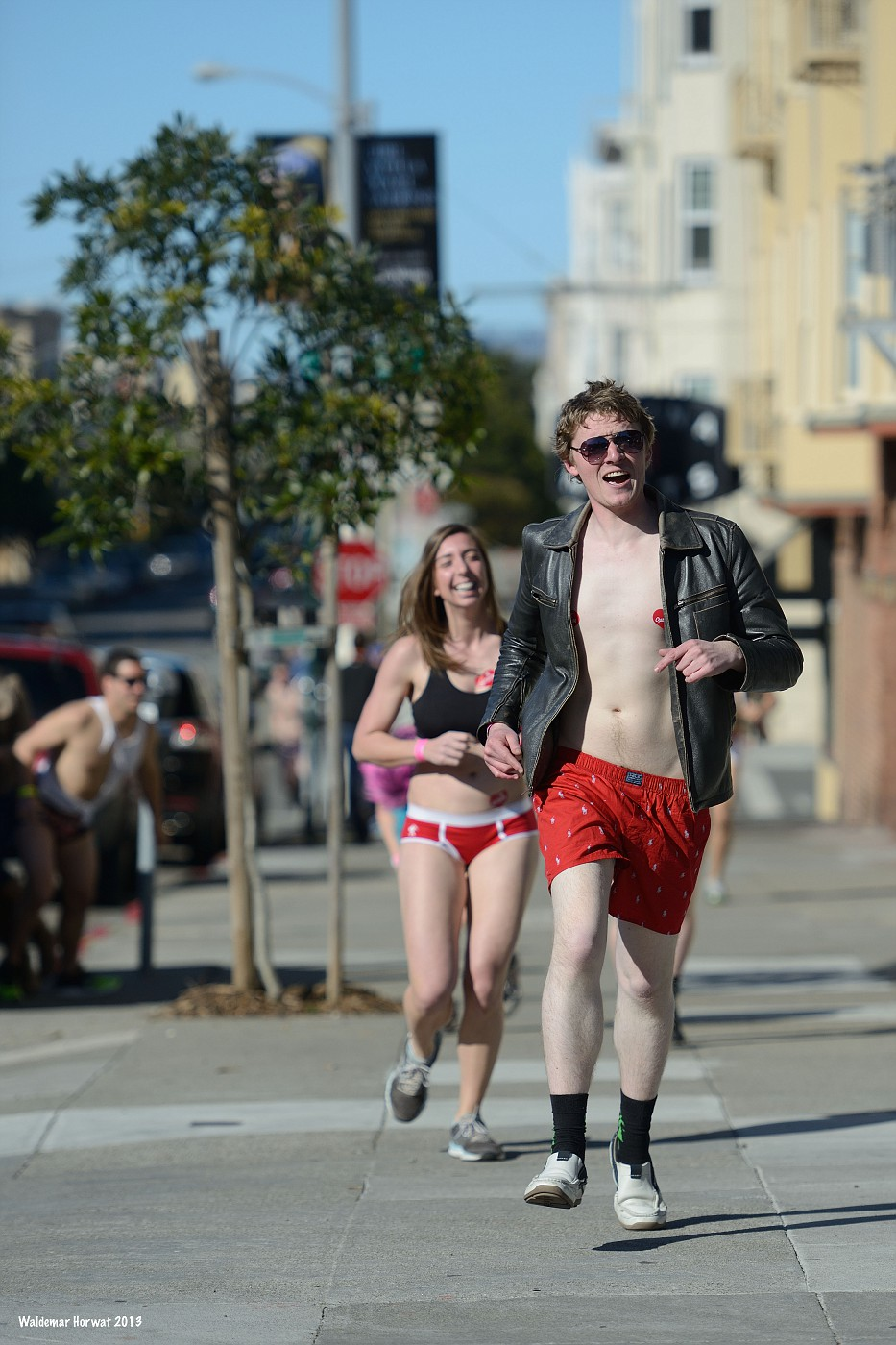 San Francisco Runners' Outfits