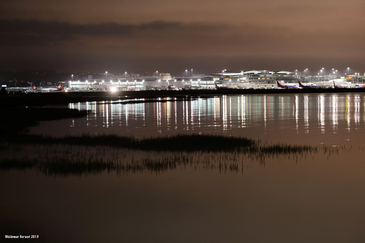 SFO at Night