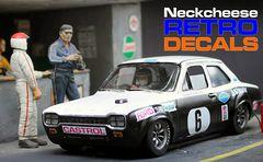 Neckcheese Retro Decals
